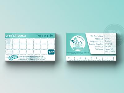Thẻ tích điểm ăn vặt ANN HOUSE