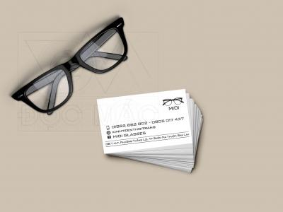 Danh thiếp mắt kính Midi Shop