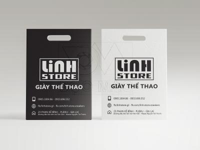 Thiết kế bộ sản phẩm nhận diện giày thể thao Linh Store