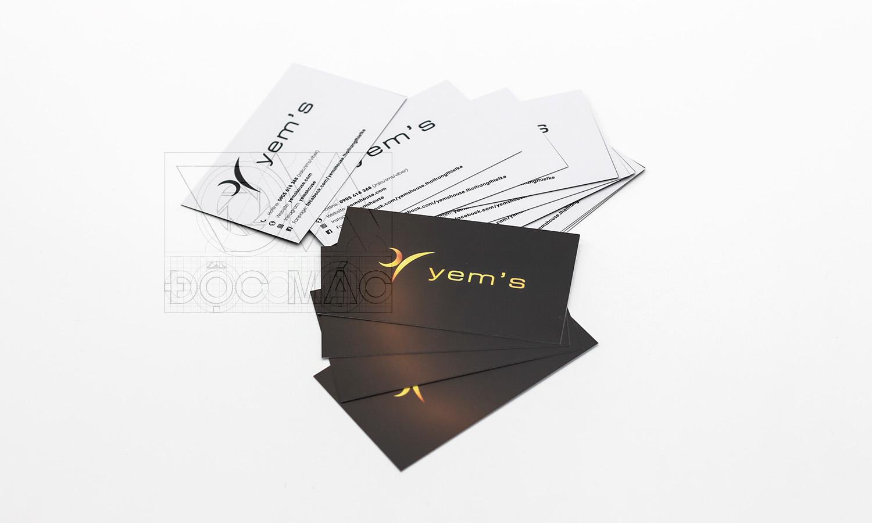 Danh thiếp thời trang thiết kế Yems