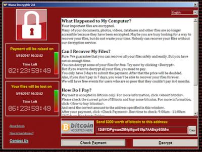 Các cách khắc phục căn bản mã độc Ransomware Wanna Cry