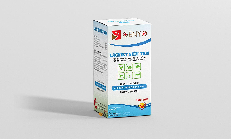 Bộ nhận diện thương hiệu thuốc thú y Genyo