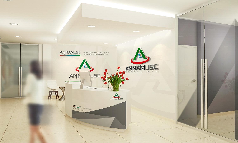 Bộ nhận diện thương hiệu bất động sản An Nam JSC