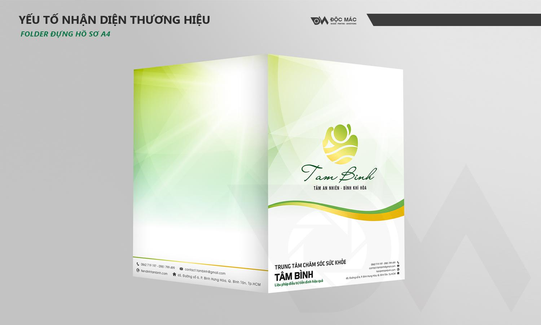 Folder hồ sơ Trung tâm chăm sóc sức khỏe Tâm Bình