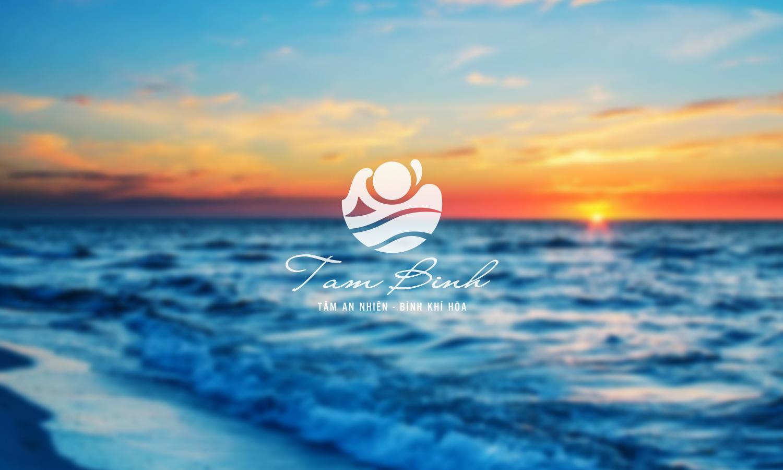 Maket logo nhận diện Trung tâm chăm sóc sức khỏe Tâm Bình