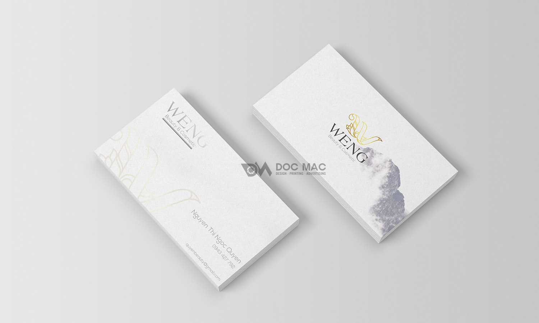 Thiết kế thương hiệu mỹ phẩm WENG BEAUTY