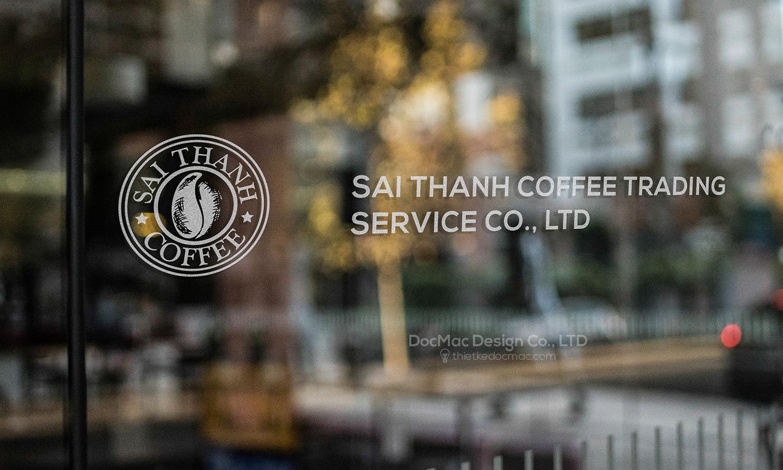 Thiết kế thương hiệu cà phê Sài Thành Coffee