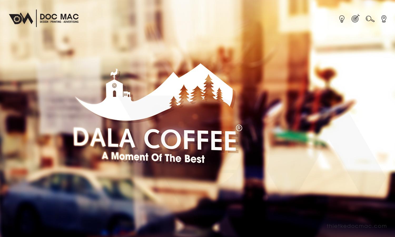 Thiết kế bộ nhận diện thương hiệu Dala Coffee