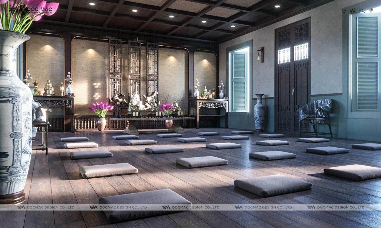 Thiết kế thương hiệu tôn giáo chùa Đại Bi Pagoda