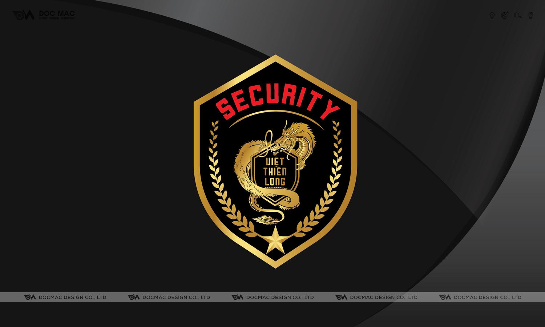 Thiết kế thương hiệu Bảo vệ Việt Thiên Long