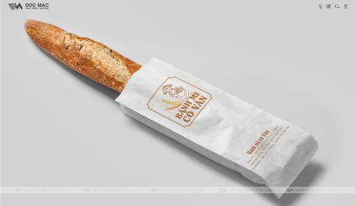 Thiết kế thương hiệu Bánh Mỳ Cô Vân