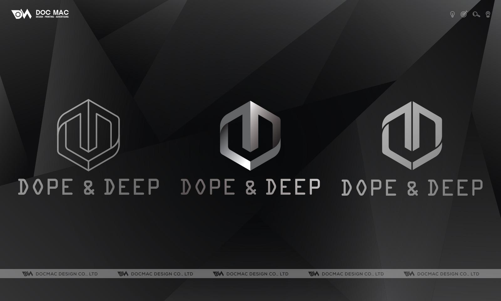 Thiết kế thương hiệu thời trang Doop & Deep
