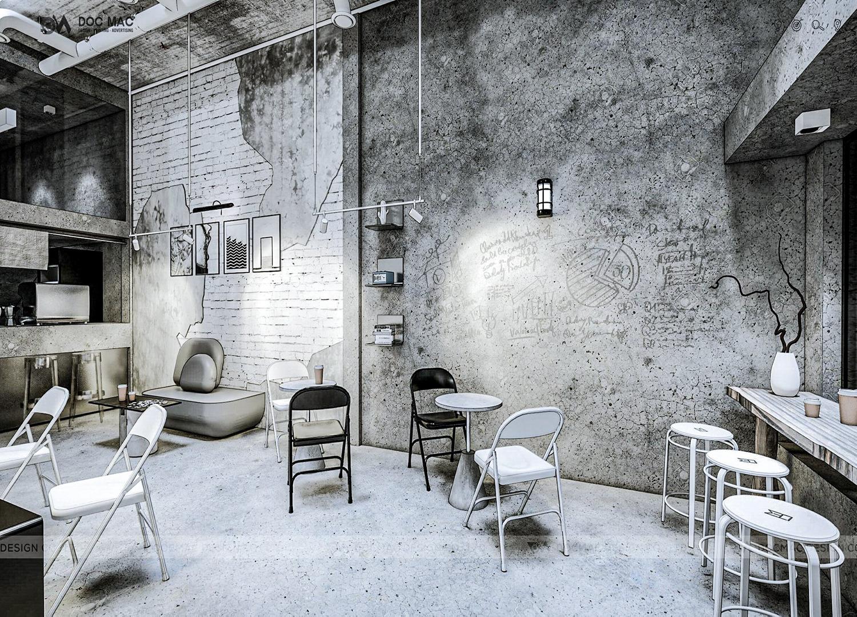 Thiết kế thi công quán cà phê Xóm Cải quận 5