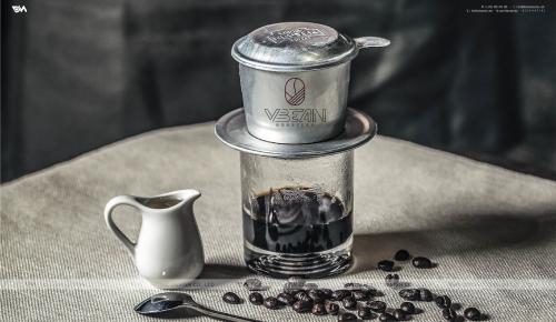 Thiết kế thương hiệu cà phê VBEAN ROASTER